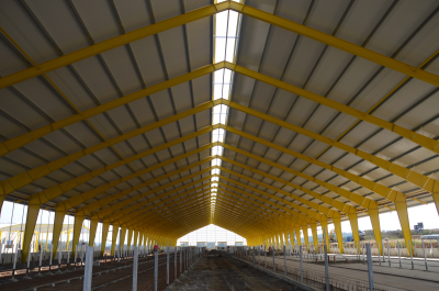 New diary farm in Vadin just opened