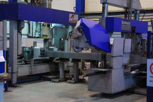 CNC sawing-drilling centres